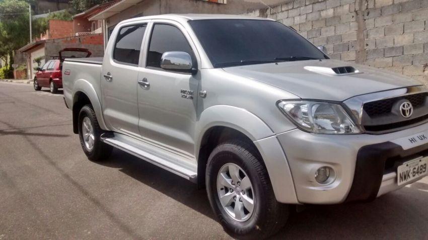 Toyota Hilux 2.7 Flex 4x2 CD SR Auto - Foto #4