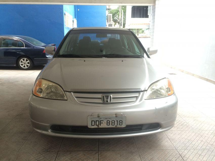 Honda Civic Sedan EX 1.7 16V - Foto #9