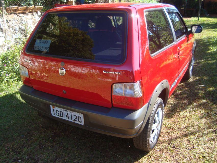 Fiat Uno Mille Fire Economy Way 1.0 (Flex) 2p - Foto #3