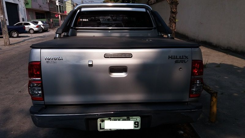 Toyota Hilux 3.0 TDI 4x4 CD SRV (Aut) - Foto #8