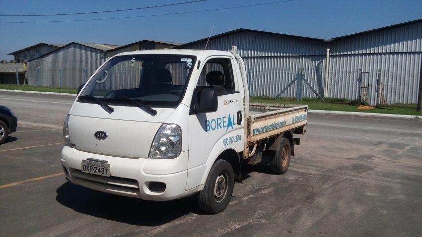 KIA Bongo 2.5 DLX 4X2 c simples RD com carrocaria - Foto #3