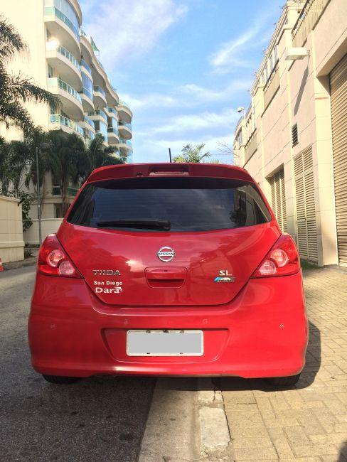 Nissan Tiida SL 1.8 (flex) (aut) - Foto #9