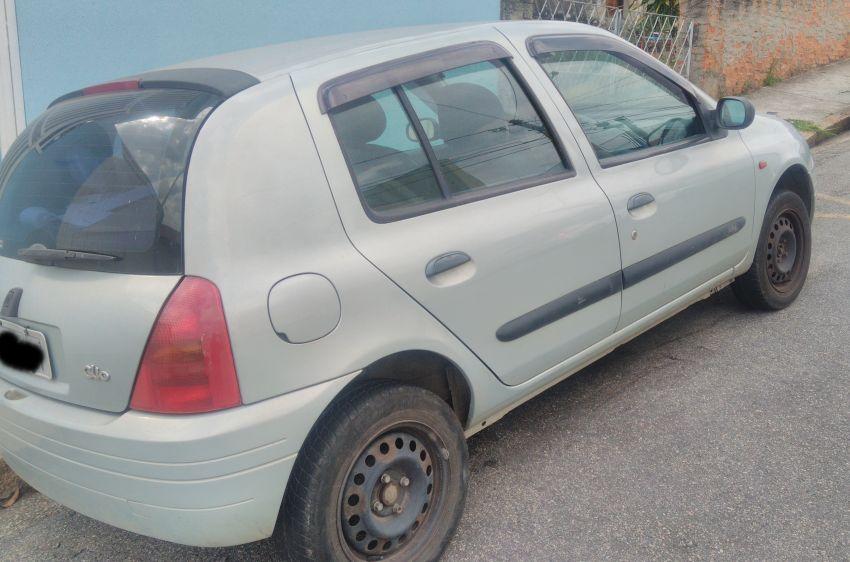Renault Clio Hatch. 1.0 16V Alize - Foto #4