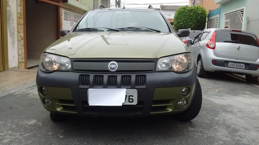 Fiat Palio Weekend Adventure 1.8 8V (Flex) - Foto #2