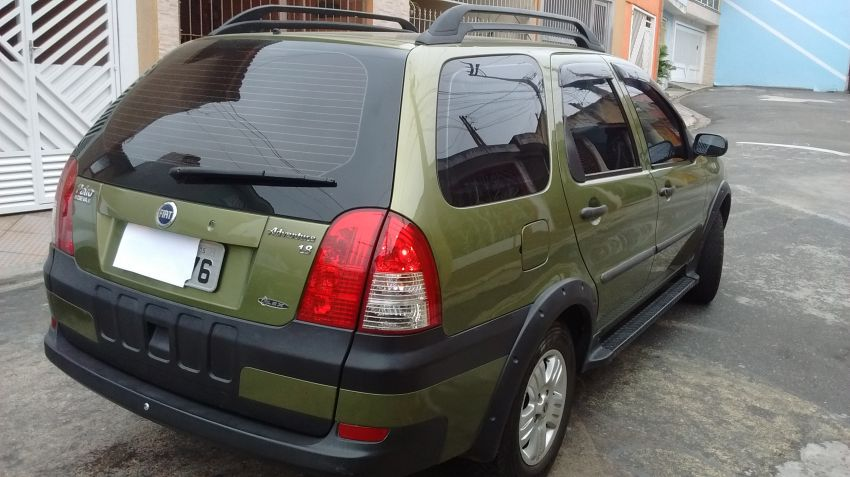 Fiat Palio Weekend Adventure 1.8 8V (Flex) - Foto #4