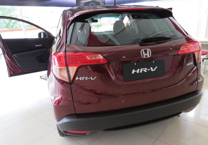 Honda HR-V LX 1.8 I-VTEC (Flex) - Foto #2