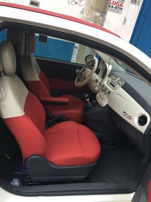 Fiat 500 Cabrio 1.4 Evo (Flex) - Foto #2