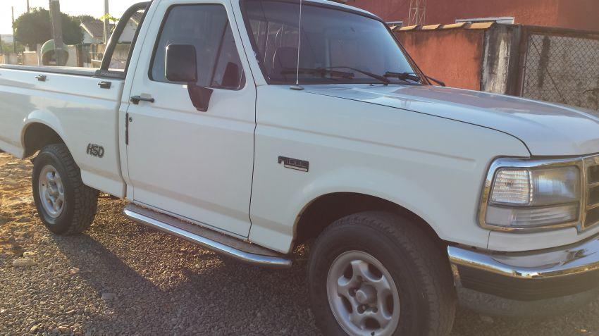 Ford F1000 XL Turbo 4x2 2.5 HSD (Cab Simples) - Foto #1