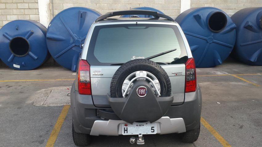 Fiat Idea 1.8 Adventure Dualogic (Flex) - Foto #6