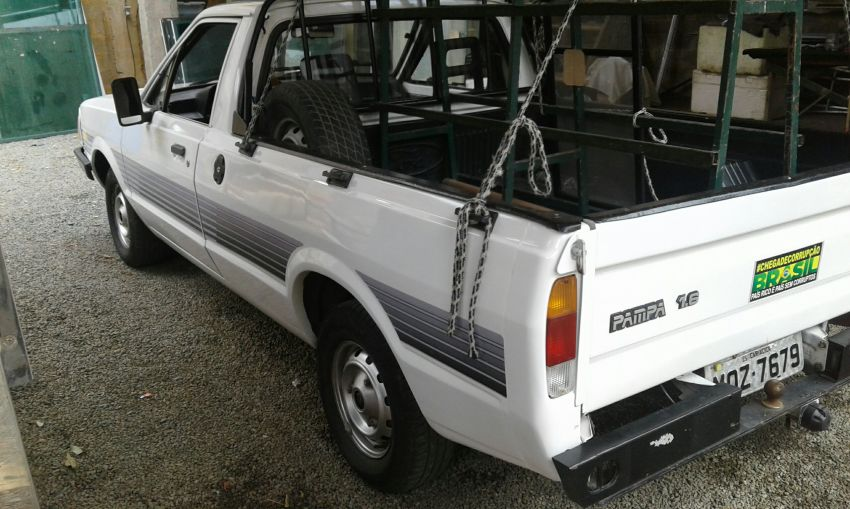 Ford Pampa GL 1.6 (Cab Simples) - Foto #2