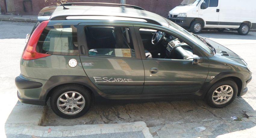 Peugeot 206 SW Escapade 1.6 (flex) - Foto #1