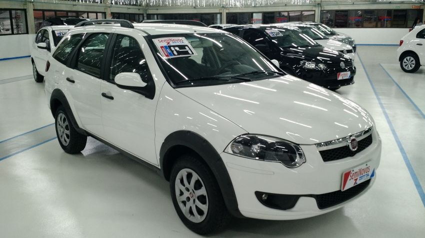 Fiat Palio Weekend Trekking 1.6 16V (Flex) - Foto #3