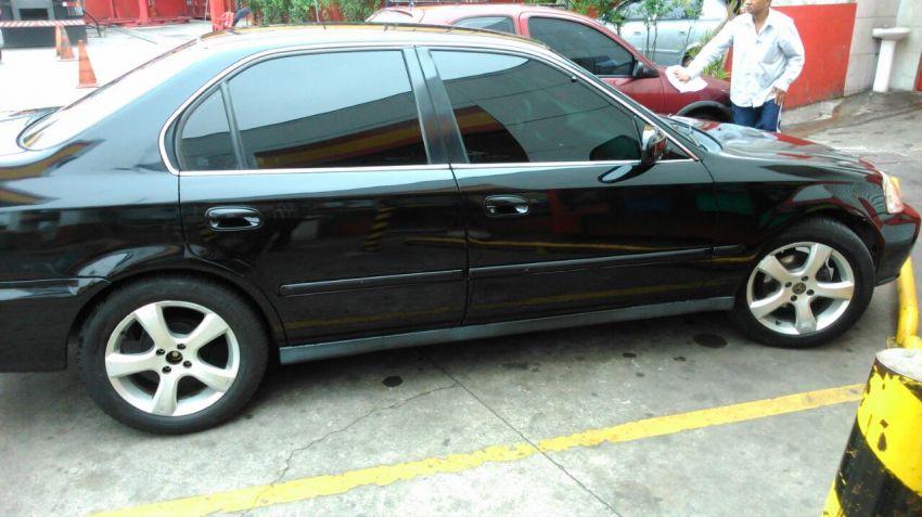 Honda Civic Sedan LX 1.6 16V - Foto #8