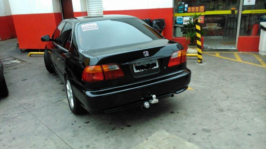 Honda Civic Sedan LX 1.6 16V - Foto #9