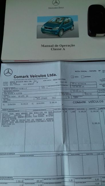 Mercedes-Benz Classe A 190 Elegance 1.9 (aut) - Foto #9
