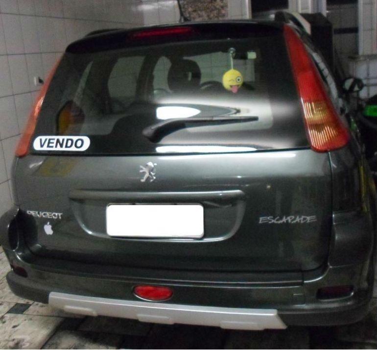 Peugeot 206 SW Escapade 1.6 (flex) - Foto #7