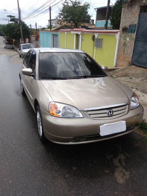 Honda Civic Sedan EX 1.7 16V (aut) - Foto #8