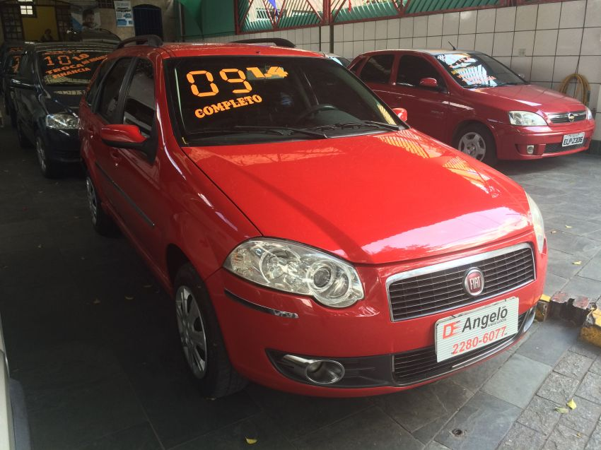 Fiat Palio Weekend ELX 1.4 (Flex) - Foto #2