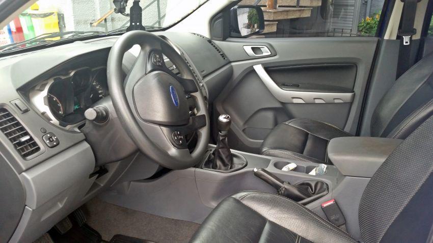 Ford Ranger 2.5 Flex 4x2 CD XLT - Foto #7