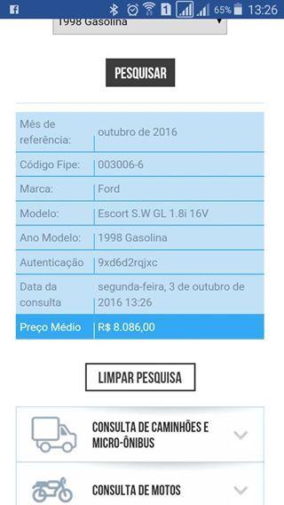 Ford Escort SW GL 1.8 MPi 16V - Foto #7