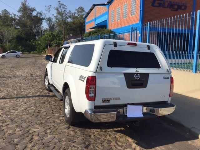 Nissan Pick Up D 22 Frontier 4x4 2.5 (cab.dupla) - Foto #8