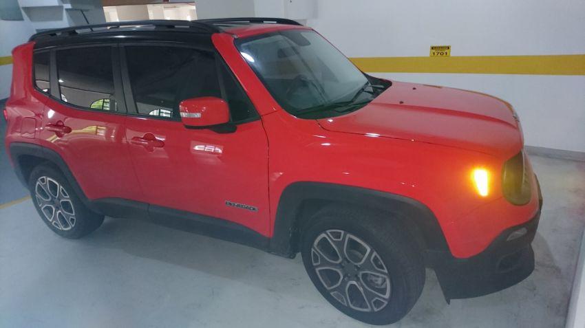 Jeep Renegade Longitude 1.8 (Flex) (Aut) - Foto #1