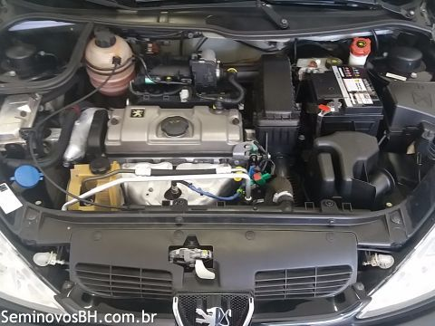 Peugeot 206 Hatch. 1.4 8V (flex) - Foto #6