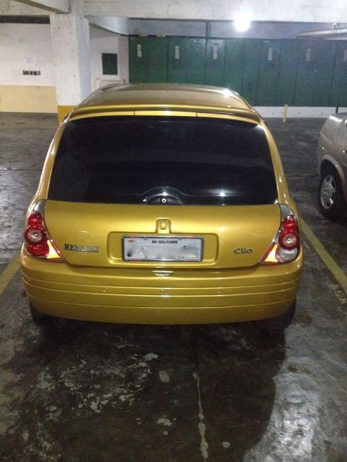 Renault Clio Hatch RL 1.0 8V - Foto #7
