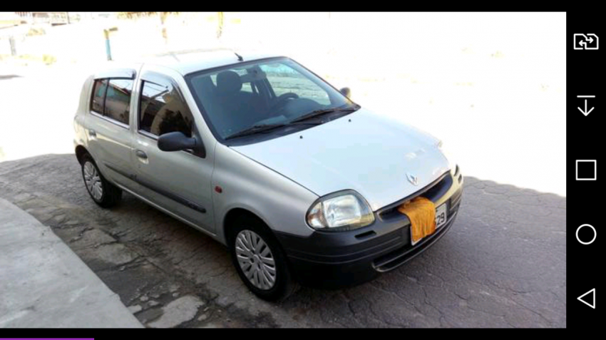Renault Clio Hatch RL 1.0 8V - Foto #1