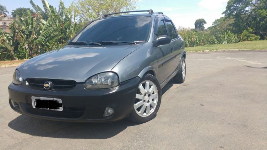 Chevrolet Corsa Sedan Super 1.0 MPFi 16V - Foto #2
