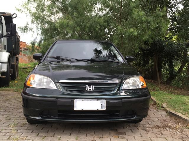 Honda Civic Sedan LX 1.7 16V - Foto #2