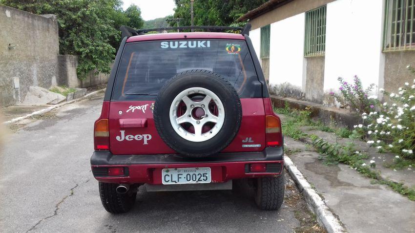 Suzuki Vitara JLX 4x4 1.6 Metal Top - Foto #7