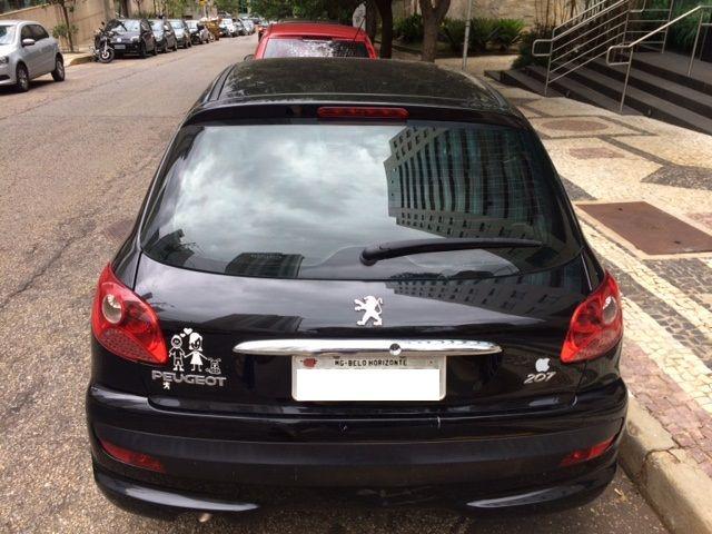 Peugeot 207 Hatch X-Line Web 1.4 8V (flex) (4 p.) - Foto #4