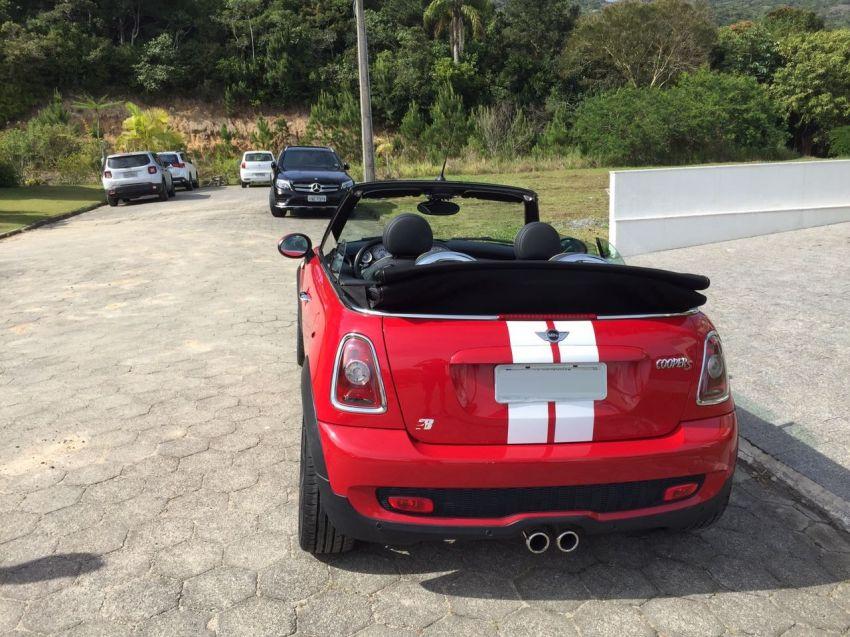 Mini Cooper 1.6 S Cabrio Top (Aut) 2p - Foto #3