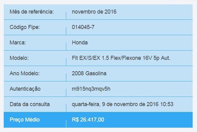 Honda Fit 1.5 16v EX CVT (Flex) - Foto #5