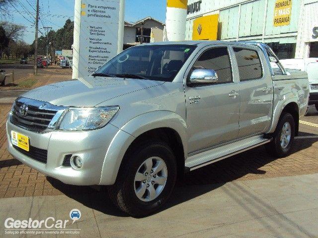 Toyota Hilux 2.7 Flex 4x4 CD SRV Auto - Foto #2