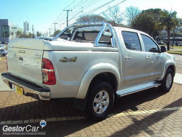 Toyota Hilux 2.7 Flex 4x4 CD SRV Auto - Foto #4