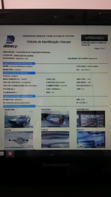 Volkswagen Parati 1.6 (Álcool) - Foto #1