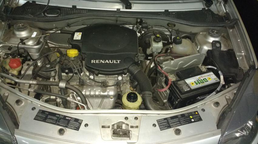 Renault Sandero Vibe 1.6 8V Hi-Torque (flex) - Foto #5