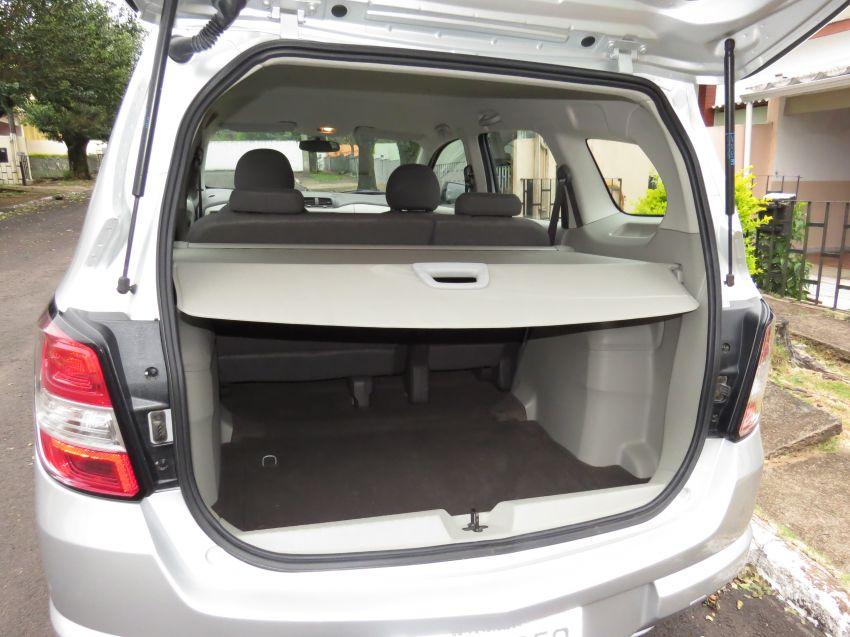 Chevrolet Spin LT 5S 1.8 (Flex) - Foto #9