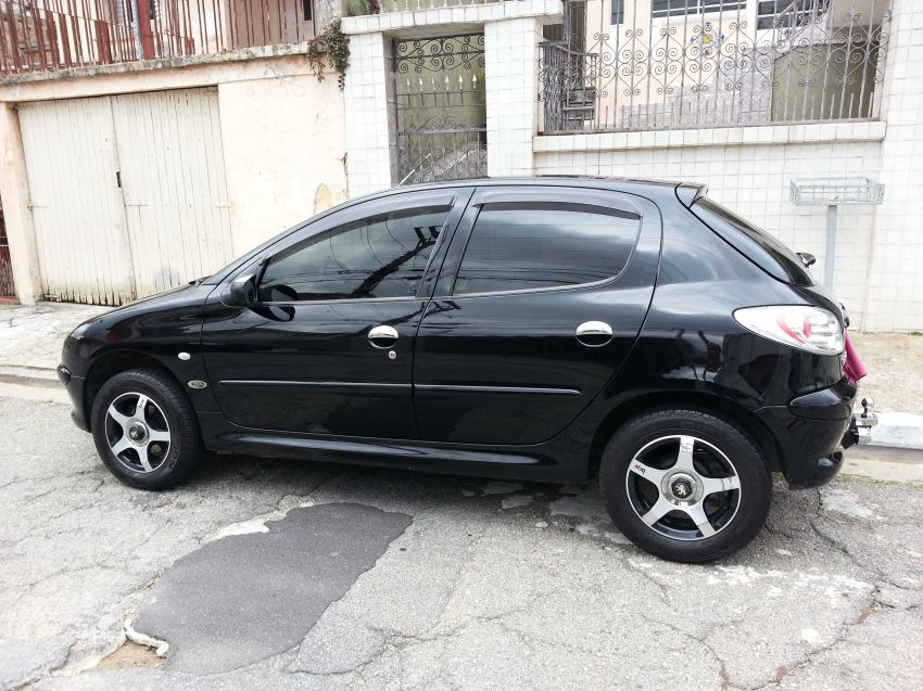 Peugeot 206 Hatch. Selection 1.0 16V - Foto #6