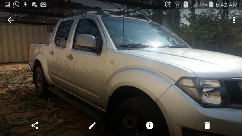 Nissan Frontier 2.5 TD CD SV Attack 4x4 - Foto #2