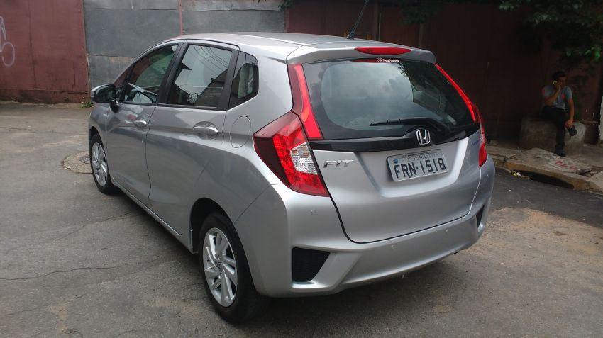 Honda New Fit LX 1.4 (flex) (aut) - Foto #4