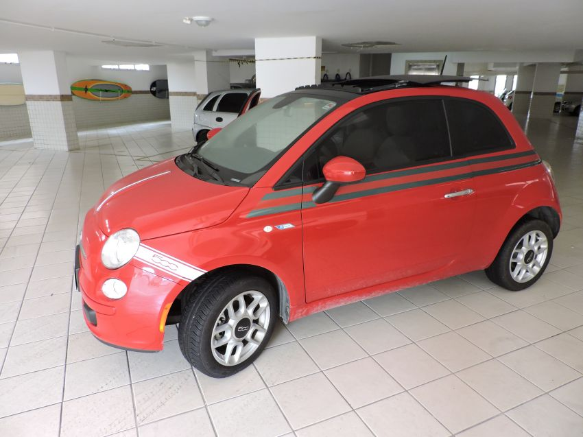 Fiat 500 Cult Dualogic 1.4 Evo (Flex) - Foto #4