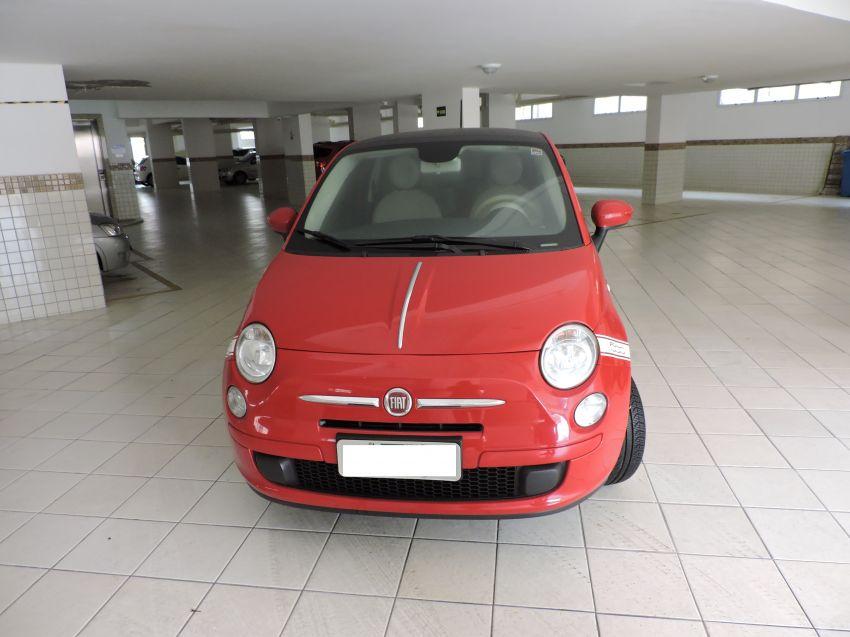 Fiat 500 Cult Dualogic 1.4 Evo (Flex) - Foto #8
