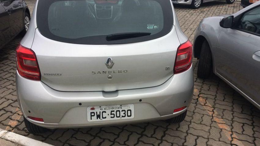Renault Sandero 1.6 8V Expression Easy-r (Aut) - Foto #7