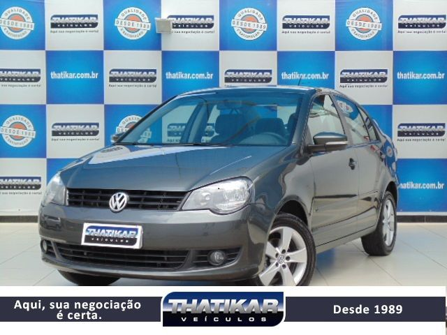 Volkswagen Polo Sedan 1.6 Mi 8V Total Flex - Foto #1
