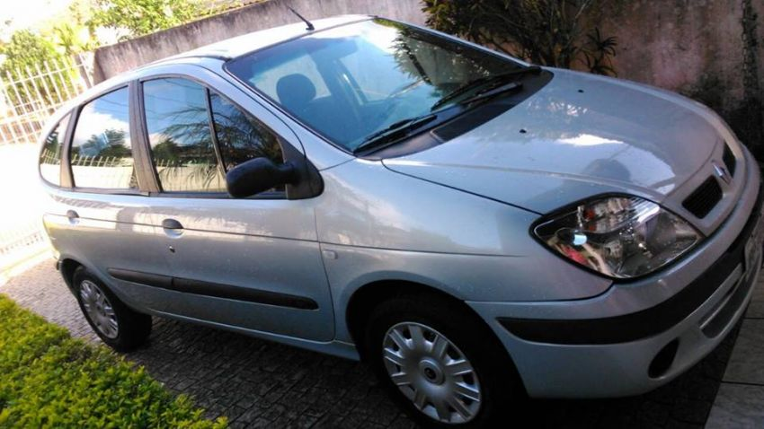 Renault Scénic Authentique 1.6 16V (flex) - Foto #3