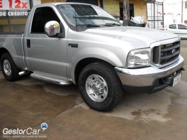 Ford F250 XL 4.2 Turbo (Cab Simples) - Foto #2