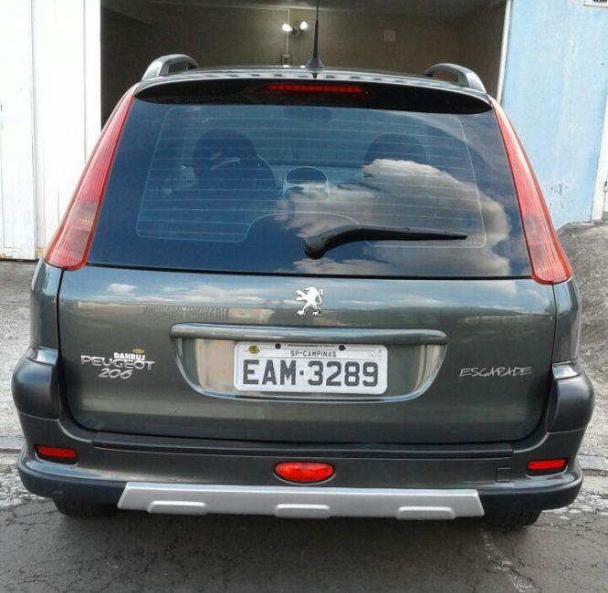 Peugeot 206 SW Escapade 1.6 (flex) - Foto #3